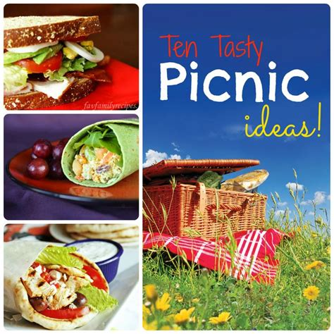 feature friday 10 tasty picnic ideas picnics lunches