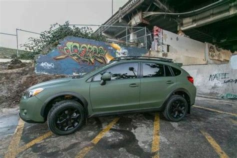 subaru crosstrek matte green 1000 images about road vehicles on jeep