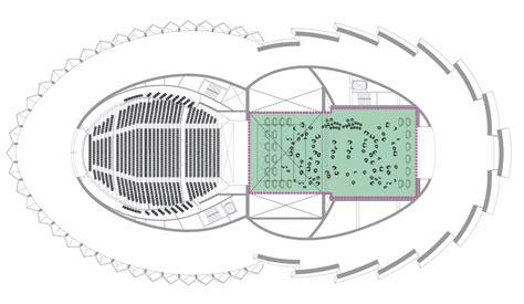 Floor Plan Theater by Galeria De Teatro Wuzhen Artech Architects 34