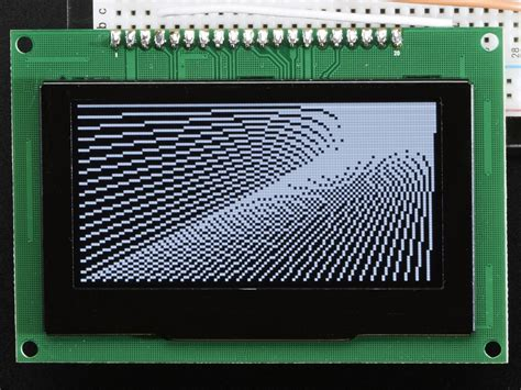 Monochrome Graphic 18 monochrome 2 7 quot 128x64 oled graphic display module kit
