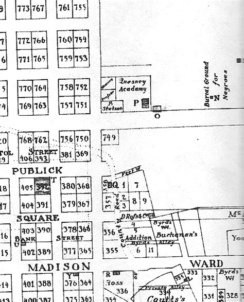 american burial grounds map scale richmond the location of richmond s