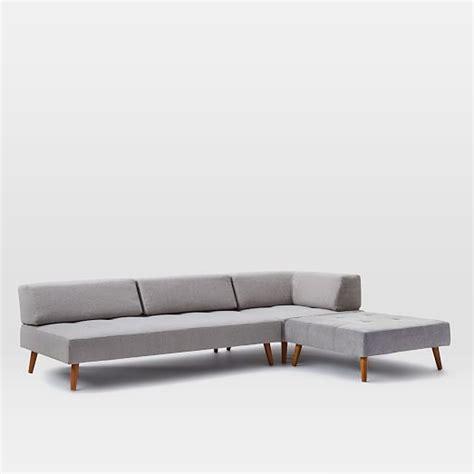 retro tillary sofa retro tillary 174 6 piece sectional west elm