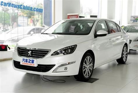 peugeot china peugeot 408 sedan launched on the auto market