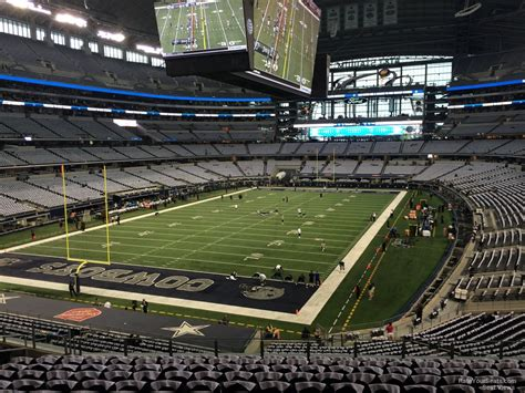 at t stadium sections at t stadium section 219 dallas cowboys rateyourseats com