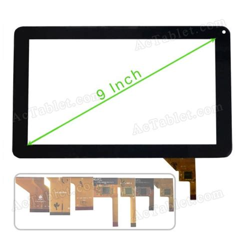 android tablet screen repair digitizer touch screen for power dopo m 975 9 inch allwinner a13 mid android tablet pc