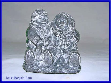 Soapstone Canada by Wolf Sculptures Canada Carved Soapstone Figurine Eskimo Ebay
