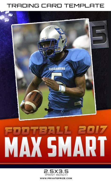 Sports Card Template Photoshop by Max Sports Trading Card Template