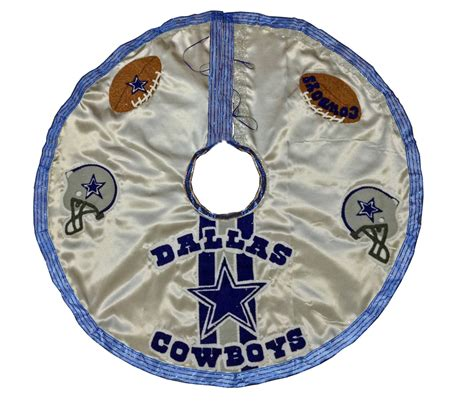 dallas cowboy christmas tree skirt dallas cowboys football tree skirt
