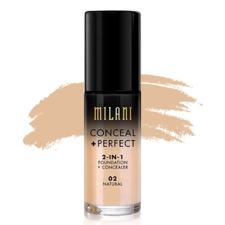 L A Hd Pro Bb Foundation Original L A Usa milani conceal 2 in 1 foundation