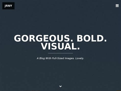 blog themes for ghost jrny a gorgeous responsive ghost blog theme best web