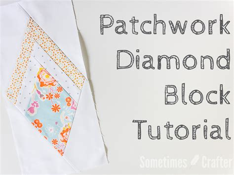 Patchwork Binding - free quilting tutorial patchwork binding