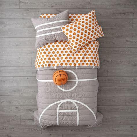 girls basketball bedding nod basketball bedding the land of nod