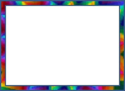 rainbow frame clipart clipground