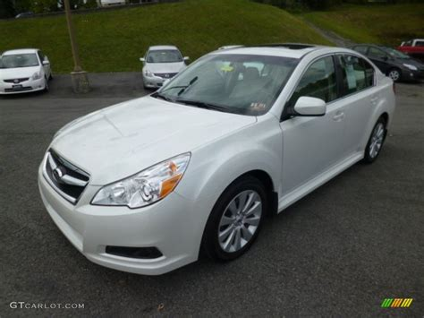 2010 Subaru Legacy 3 6r Limited by Satin White Pearl 2012 Subaru Legacy 3 6r Limited Exterior