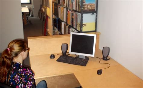 4 desks conference area 6 bookshelf hull height desks