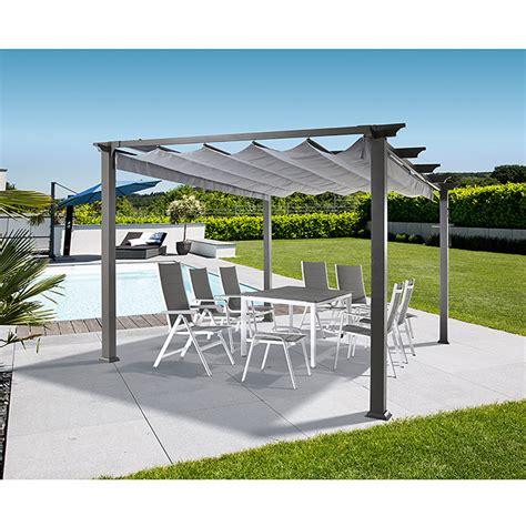 pavillon jakarta sunfun raffpavillon kreta l x b x h 333 x 418 x 235 cm