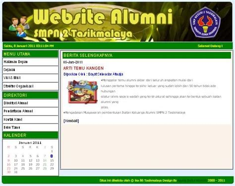 tutorial website menggunakan dreamweaver tutorial website exle website sederhana version 1 3