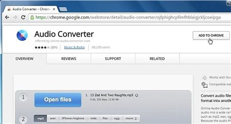 Coverring Audio Chrome Hrv how to convert audio files using drive