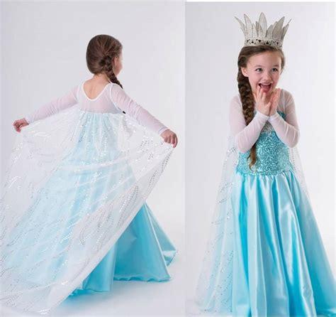Princess Kostum Elsa Frozen disney frozen princess elsa costume formal dress 2 8t