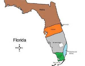 an accurate map of florida