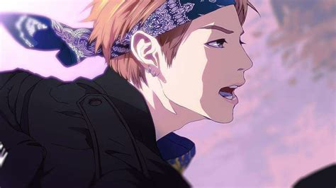 bts not today anime version combination for my