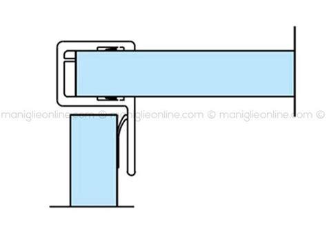 guarnizioni porte doccia guarnizione per box doccia in vetro 6 8 mm