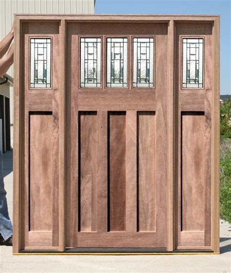 Mission Style Exterior Doors Arts And Crafts Style Exterior Door Sets