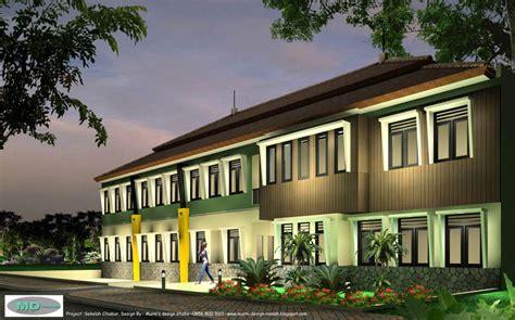 desain rumah 15rb m2 gambar ruko kios sekolah show room hotel