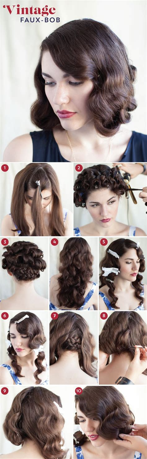 diy vintage big hairstyles 417 best images about 1920 s hair styles on pinterest