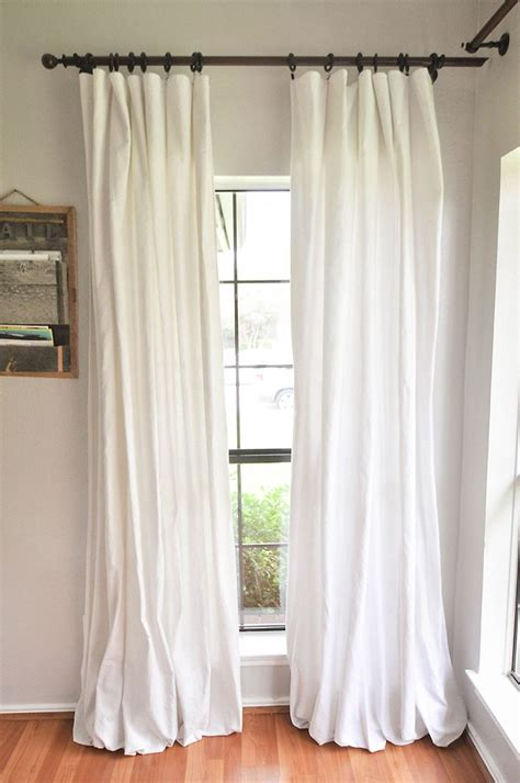 no sew drop cloth curtains best 25 drop cloth curtains ideas on pinterest