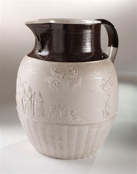 Soft Handle Uk 30 X 38 Isi 100 Lbr stoneware jug t j hollins royal museums greenwich