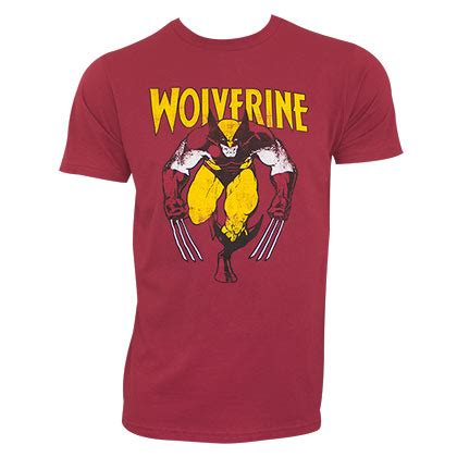 Tshirt The Wolverine wolverine t shirts official merchandise 2017 18