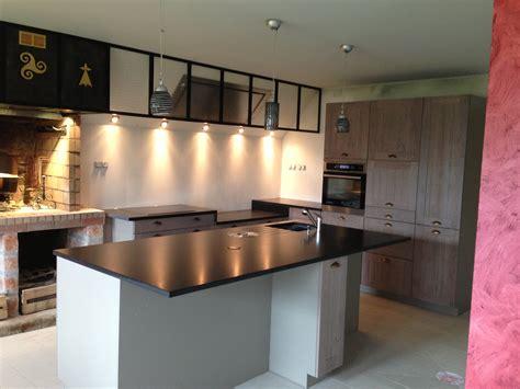 plan travail cuisine cuisine authentique plan de travail granit 224 vannes
