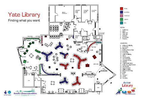 Hospital Floor Plans by Library Space Planning