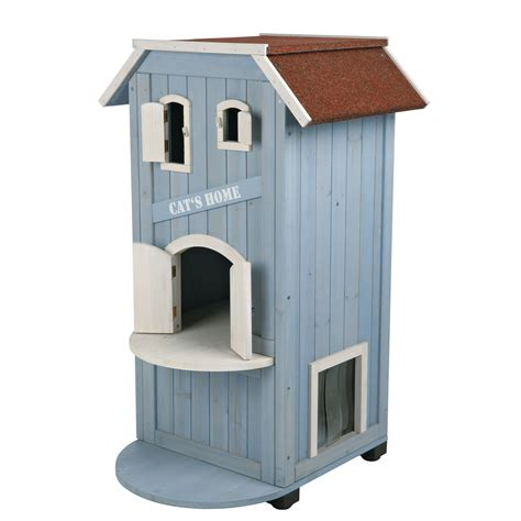 trixie cat house trixie 3 story cat house reviews wayfair