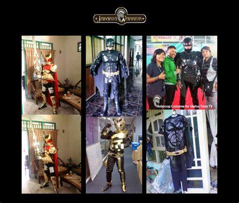 pembuatan film larva jakarta warrior costume maker special order for trans tv