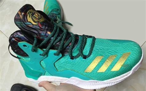 Adidas Drose7 Nations the adidas d 7 is spotted in teal gold weartesters
