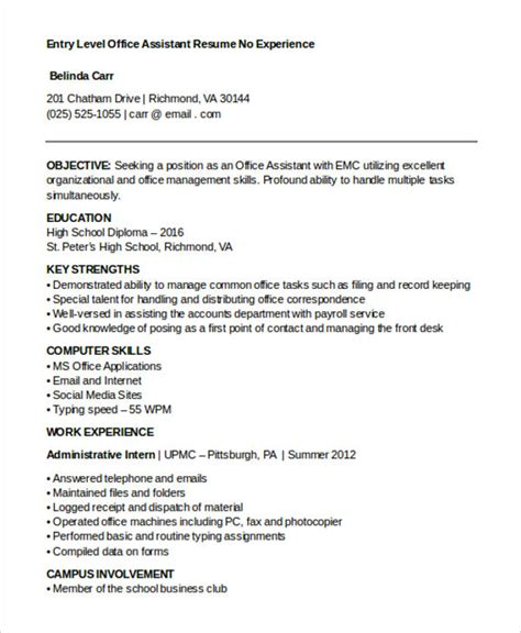 Office Work Resume by 15 Best Work Resume Templates Pdf Doc Free Premium