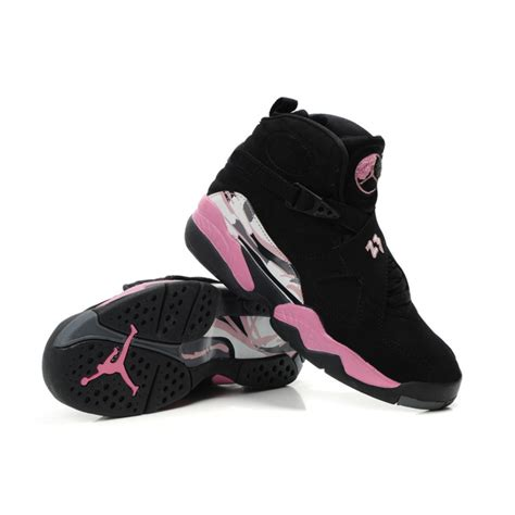 air 8 air sole high black pink womens shoes cheap