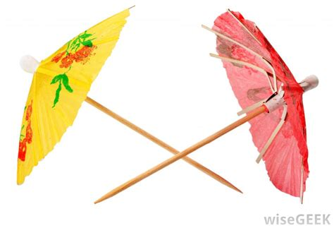 Cocktail Umbrellas | what is a cocktail umbrella with pictures