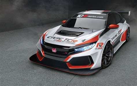 Car Types Sedan Coupe by 2018 Honda Civic Type R Turns Into Tcr Race Car