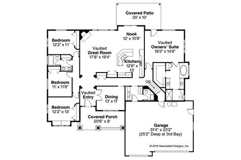grayson floor plan craftsman house plans grayson 30 305 associated designs