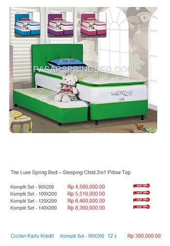Kasur The Luxe kasur the luxe harga bed termurah di indonesia