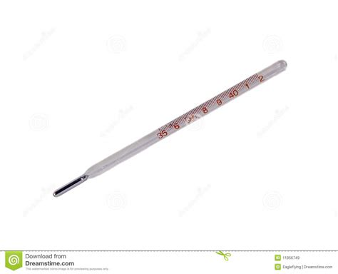 Thermometer Glass glass mercury thermometer royalty free stock images