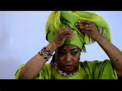 how to tie bridal head gear with aso oke 2014 youtube how to tie aso oke african head gear gele youtube