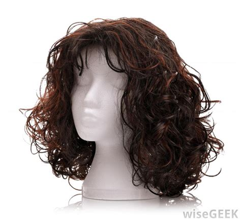 With Wig On what are the different types of synthetic wigs with