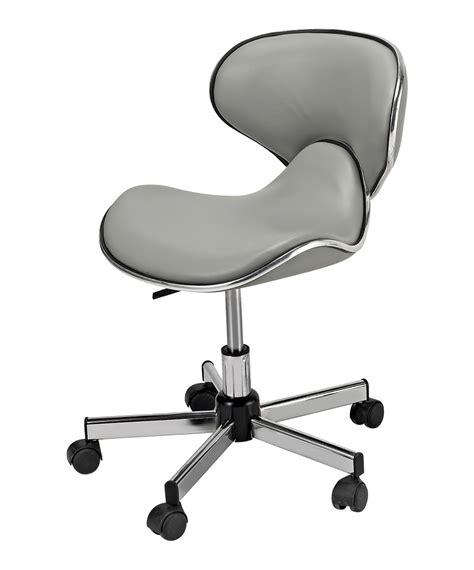 ergonomic nail tech chairs pibbs 545 butterfly pedicure stool from buy rite