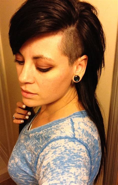 what is the shaved sides and longer on top hairstyle called long hair side shave hairstyles pinterest side shave
