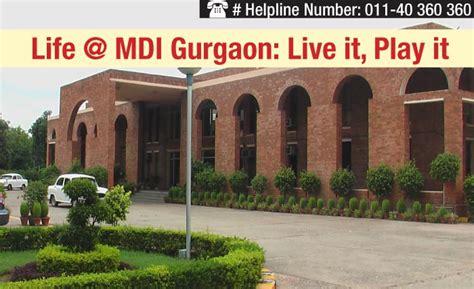 Mdi Gurgaon Executive Mba 2017 by At Cus Mdi Gurgaon