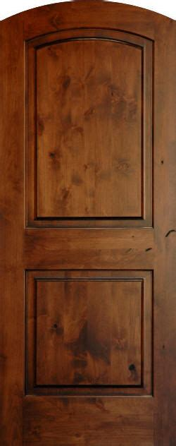 Knotty Pine Kitchen Cabinet Doors by Knotty Alder True Eased Arch Doors Homestead Interior Doors